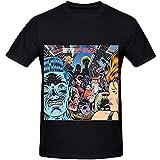 Iggy Pop Brick by Brick Rock Album Cover Men Crew Neck Slim Fit T Camiseta PC. M