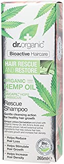DR Organic Rescue & Restore Shampoo Organic Hemp Oil