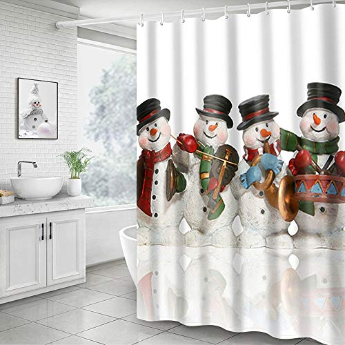 Hoomall Snowman Printed Decorative Waterproof Muilt...
