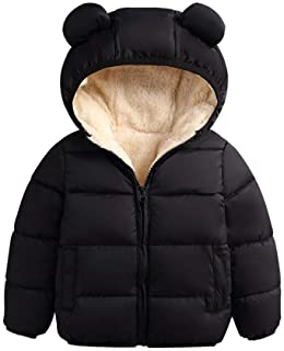 Girl Winter Thick Cotton Warm Outwear Coat Kids Snow Jacket SHOBDW Girls Coats