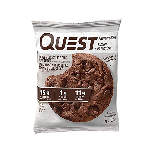 Quest Nutrition Cookie Double Chocolate Chip 12/Box, 696 g
