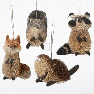 Best Buri Woodland Animal Hanging Ornament - Set of 4 Review
