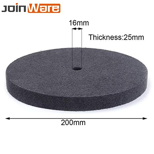 Why Should You Buy Xucus 105-300MM Gray Nylon Fiber Polishing Buffering Pad Grinding Wheel Abrasive ...