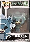 Pop Animation: Rick and Morty – Teddy Rick Edición Limitada Chase Pop! Figura de Vinilo (Incluye Funda Protectora Compatible)