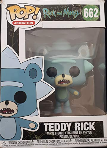 Pop Animation: Rick and Morty – Teddy Rick Edición Limitada Chase Pop! Figura de Vinilo (Incluye...