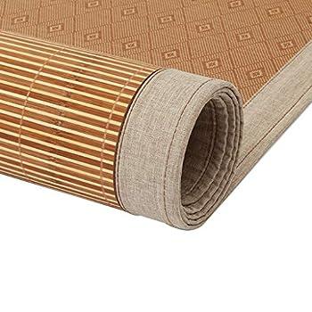 WXH Coussin de lit Simple Pliant d'étudiant de Bambou de Double lit sans épine de Crochet Cool et Confortable (Taille : 1.8m×2m)