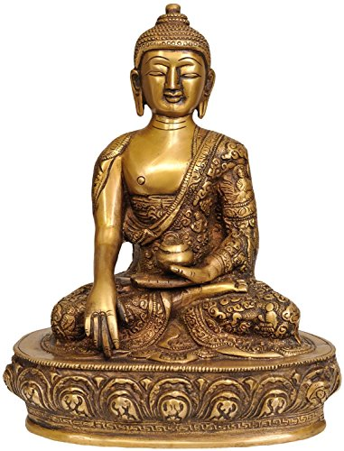 AapnoCraft Thai Rare Buddha Statue Shakyamuni Sculpture...