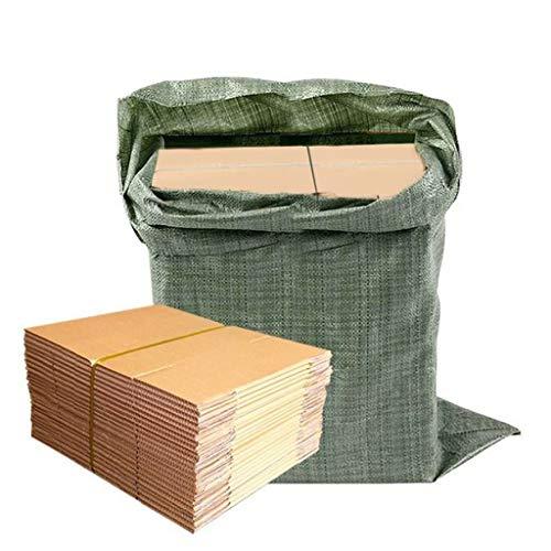 yankai Cajas Carton para Cartón Superduro De Cinco Capas con 100 Piezas Y 1 Bolsa, Cartón Extra Resistente, Anticaída, Resistente A La Presión Y A La Humedad, Disponible En Varios Tamaños
