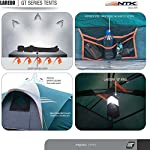 NTK Laredo Gt 8 To 9 Person 10 By 15 Foot Sport Camping Tent 100% Waterproof 2000Mm Dark Teal 4