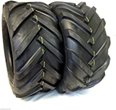 DEESTONE Two 23x10.50-12 6ply Rated 23x10.50x12 Tractor Lug Ag Tire 23x1050-12 2 Tires Pair