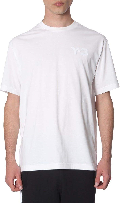 ADIDAS Y3 YOHJI YAMAMOTO Men's DY7138 White Cotton TShirt