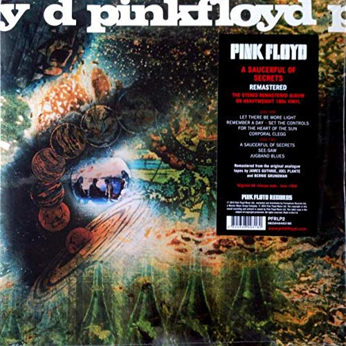 Pink Floyd - A Saucerful Of Secrets - Pink Floyd Records - PFRLP2, Columbia - 0825646493180