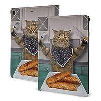 タブレットケース Cat IPadケース キーボード バックライト ワイヤレス キーボード 着脱式 手帳型 スタンド機能付き PUレザー アイパッドキーボード 9.7インチ対応 IPad スマホ保護 軽量