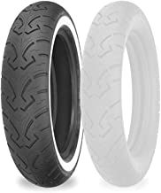 MT90-16 74H Shinko 250 Rear Motorcycle Tire White Wall for Harley-Davidson Electra-Glide Standard FLHT//I 1995-2003