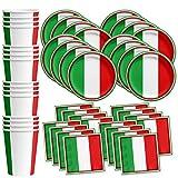 Italy Italian Flag Birthday Pa...