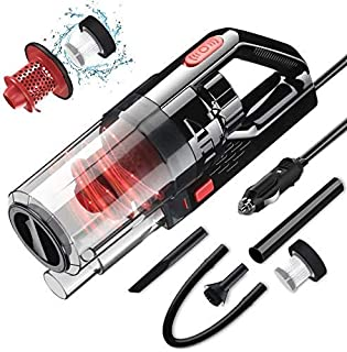 Epzia Car Vacuum, Portable Car Vacuum Cleaner High Power Vacuum for Car Interior Cleaning with Wet or Dry for Men/Women, 1...