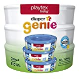 Playtex Recharge pour couches Genie, X0679500, 3 Pack Unscented, 1