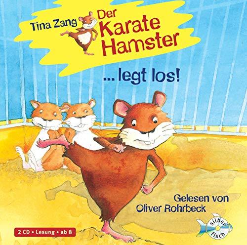 Der Karatehamster 1: Der Karatehamster legt los!: 2 CDs