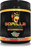 Gorilla Mode Pre Workout - Massive Pumps · Laser Focus · Energy · Power - L-Citrulline, Creatine, GlycerPump™,...