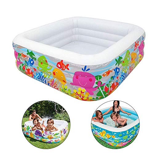 Opblaasbare Zwembaden Aquarium Pool Children's Family Game Pool Summer Kids Inflatables Fun Water Play Center