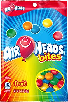AirHeads Bites Candy Peg Bag Fruit Party 6 Ounce