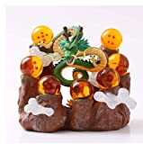 Dragon Ball Z Figura De Acción Shenron Mountain Crystal Balls PVC Figura Dragon Ball Hill Juguetes De Modelos Coleccionables 16Cm