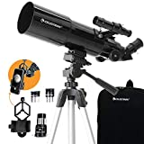 Celestron - 80mm Travel Scope - Portable Refractor Telescope - Fully-Coated Glass Optics