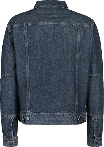 Tommy Hilfiger Iconic Trucker-Bowery Blue Chaqueta para Hombre
