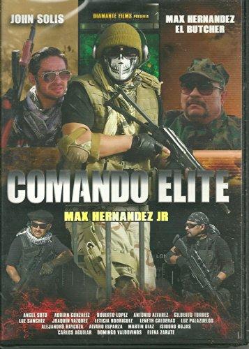 Comando Elite __Max Hernandez Jr Ntsc Dvd Reg-1 & 4