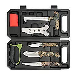 best top rated hunting knife sets 2021 in usa