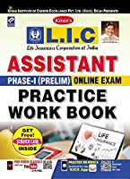 Kiran LIC Assistant Phase-I (Prelim) Online Exam Practice Work Book English (2720)