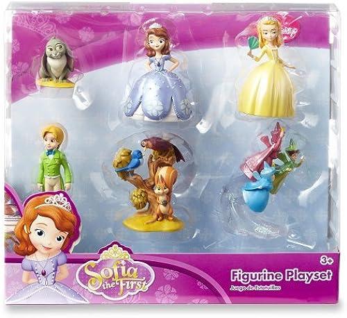 Disney Sofia the First Princess 6 pc Figurine Figure Set by Disney