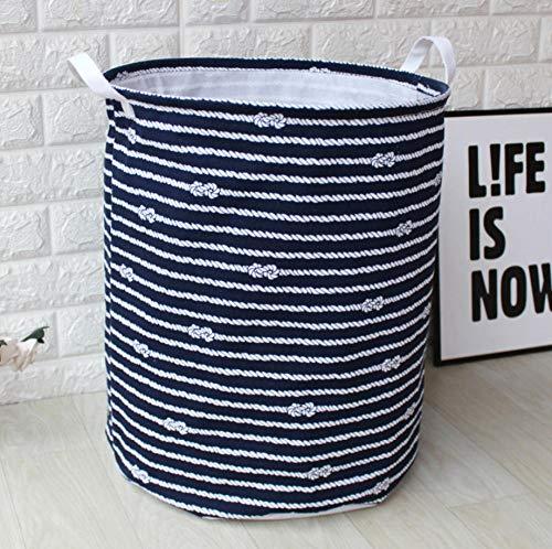 YUWO Opvouwbare ronde opslag wasmanden, waterdichte opvouwbaar, geometrisch vuile kleding speelgoed opbergemmer, mand, wasmand