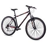 CHRISSON - Bicicleta de montaña Hardtail de 29 pulgadas - Remover 1.0 negro -...