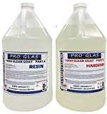 Table Bar Top Clear Epoxy Resin - ProGlas 1000 - 2 Gallon Kit
