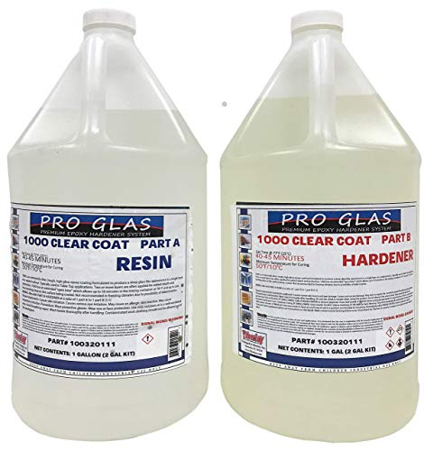 ProGlas 1000 Crystal Clear Table Top Epoxy Resin...