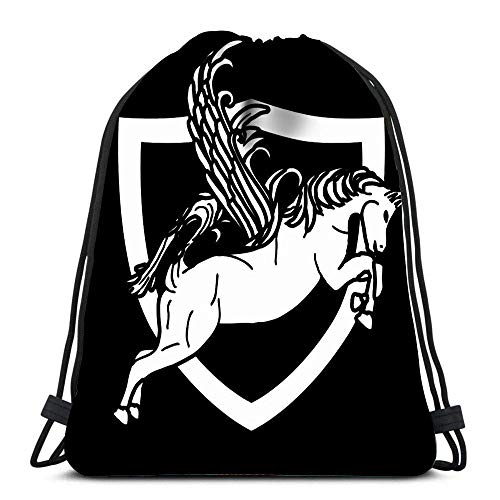 Yuanmeiju Unisex Bolsos con cordón,Teens Sack Drawstring,String Backpack,Mochila con cordón,Looking For The Perfect Birthday Embroider This Design On Clothes Towels Sport Storage Polyester Bag