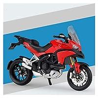 ダイキャストモデルモーターサイクル 1:18に適用するDUCATI合金ダイカストオートバイモデル子供用利用可能な衝撃吸収玩具ギフト玩具コレクション (Color : 4)