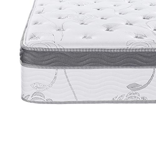 Olee Sleep 13 inch Galaxy Hybrid Gel Infused Memory Foam and Pocket Spring Mattress (King)