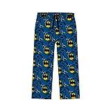 DC Batman Pantalon de pyjama pour homme - Bleu - Large