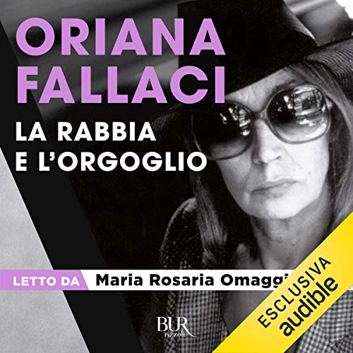 La Rabbia e l'Orgoglio audiobook cover art