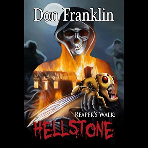 Reaper's Walk: Hellstone audiobook cover art