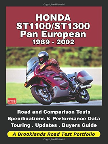 Honda ST1100/ST1300 Pan European 1989-2002 Road Test Portfolio