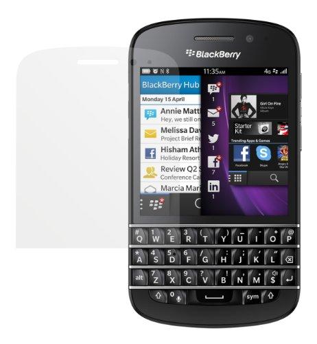 dipos I 2x Schutzfolie matt kompatibel mit Blackberry Q10 Folie Bildschirmschutzfolie