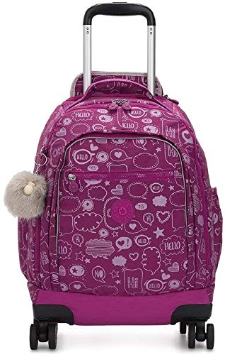 Kipling ZEA Zaino, Multicolore (Statement)