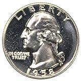 1958 Silver Washington Quarter Proof