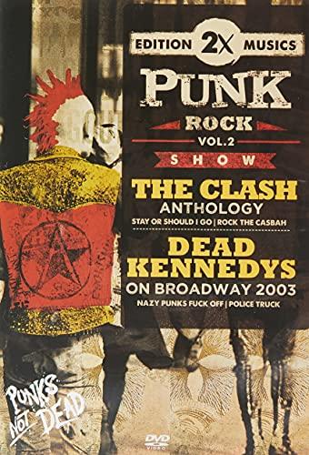 2 X PUNK ROCK VOL. 02 - THE CLASH/ DEAD KENNEDYS