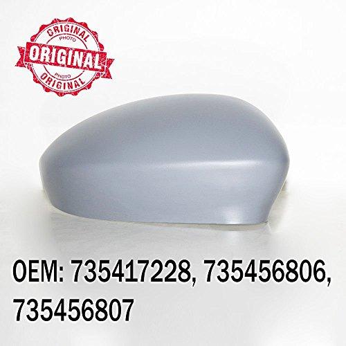 CarJoy 7240 Rechts Außenspiegel Seitenspiegel Spiegelkappe Abdeckung für 500 ab 2007 OEM: 735417228 735456806 735456807