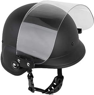 SHENKEL M88 フリッツタイプ ライオットシールドヘルメットVISOR ブラック met-004bk
