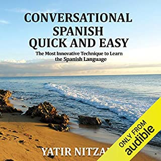 Conversational Spanish Quick and Easy audiobook cover art